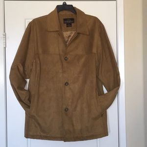 Men's Suede-Like Jacket Small